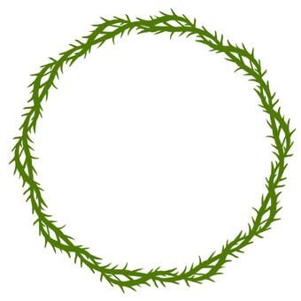 Thorns ring (green)