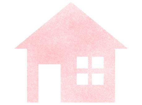 핑크 하우스 (도장 바람)