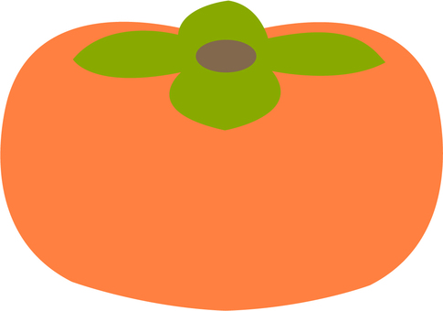 【Food】 persimmon 2