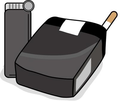 Black box cigarette