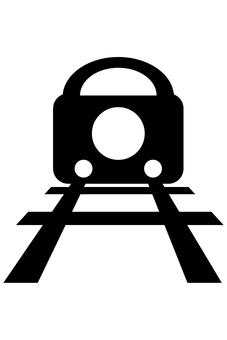 Train silhouette 02