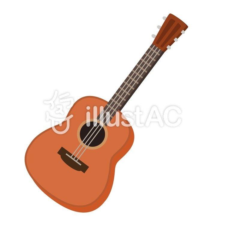 アコースティックギターイラスト No 723718無料イラストなら