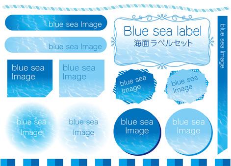 Sea surface label set