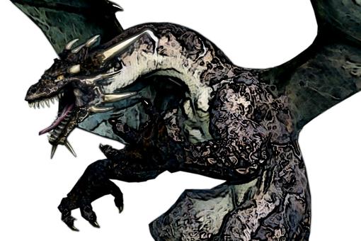 怒れるドラゴン