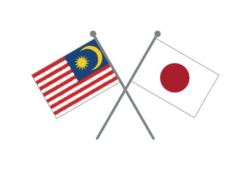 Flag (Japan & Malaysia)