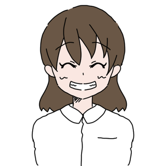 Women with white clothes (super smile)