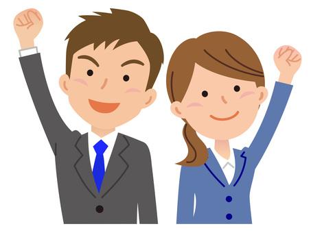 5829. Men & women business, spirit