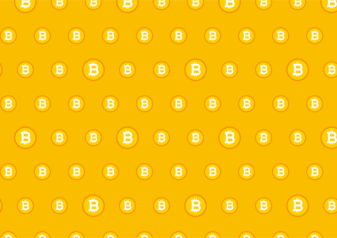 Virtual Currency Bitcoin Pattern background