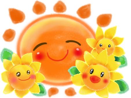 해바라기와 태양