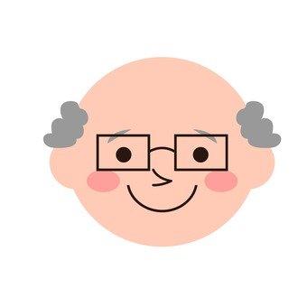 할아버지의 얼굴