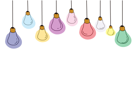 Colorful bulb
