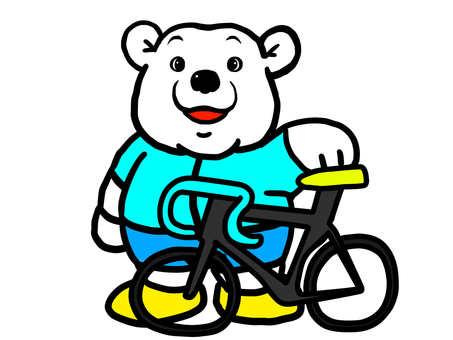 백곰 자전거