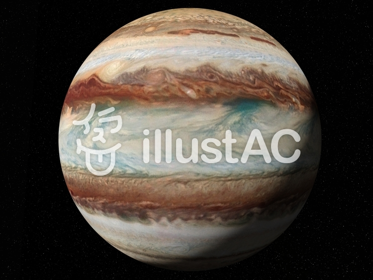 ジュピター(木星)のイラスト