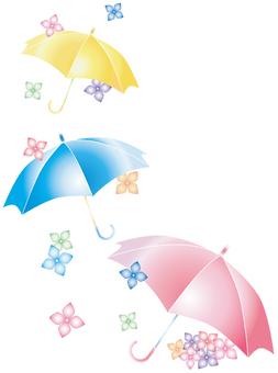 Flower · rain