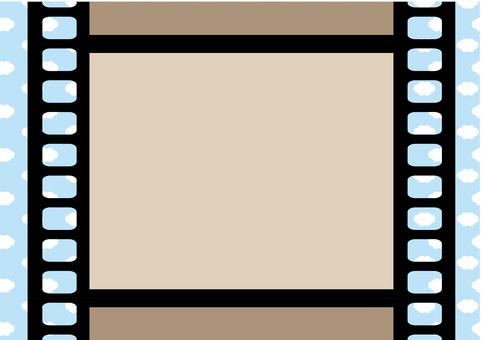 Film frame <blue sky>