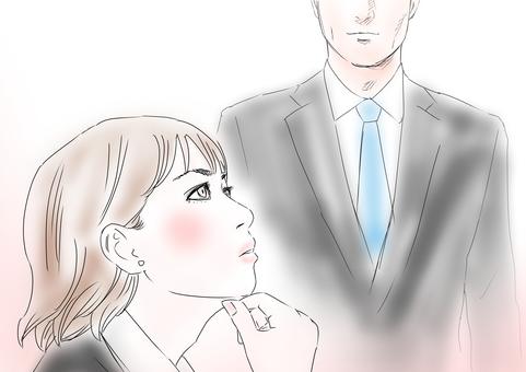Women Think Men Suit