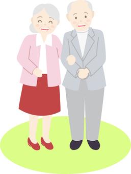 노인 부부