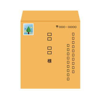 Image of non-standard-size envelope