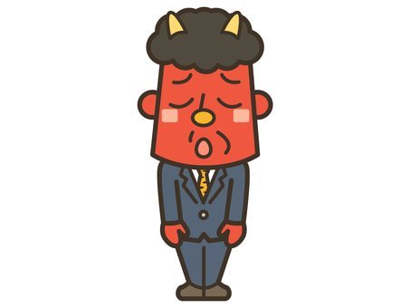 Akaoni 004 when Setsubun ends and begins job hunting