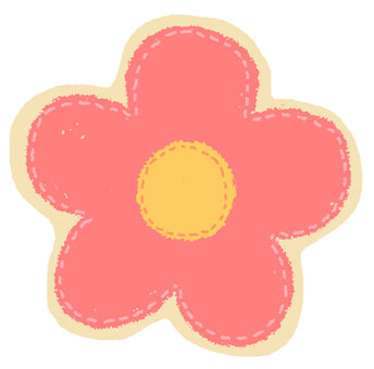 Flower patch style flake seal