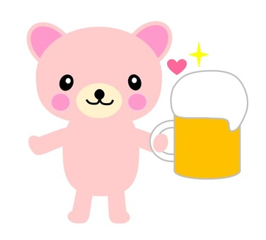 Beer and bear-chan