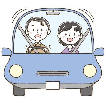 Dangerous driver elderly drivers / elderly people