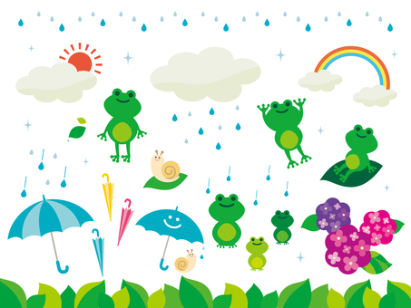Illustration of the rainy season (4)