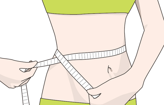 Waist weight loss diet