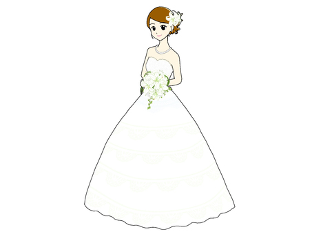 Flower marriage _ whole body ①