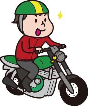 ぶんぶんバイク