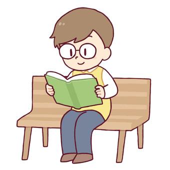 A boy who reads