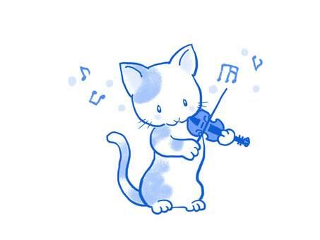 バイオリンねこ41