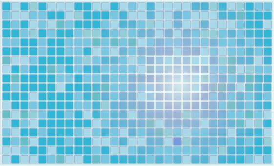 藍色瓷磚2