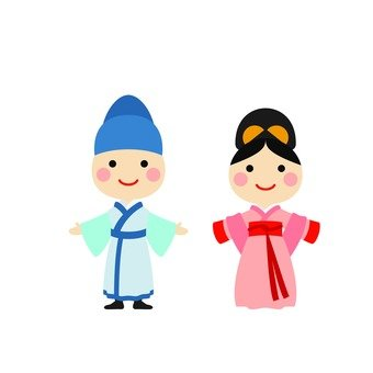 Male and female Hanbok 2