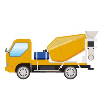 Mixer Car Illustration 2