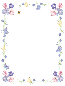 Cute letter pad of stationery 2-float