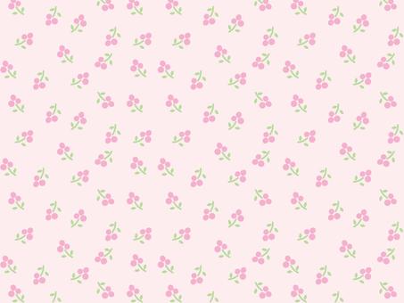 Small flower pattern pink