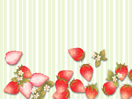 Free background material strawberry