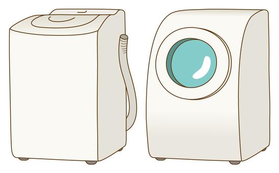 쓰레기 분리 수거 / 세탁기