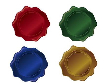 Sealed wax color variation