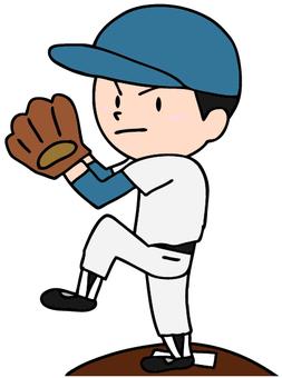 Pitcher's illustration