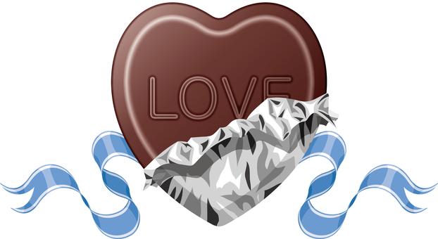 Valentine's Heart Chocolate LOVE
