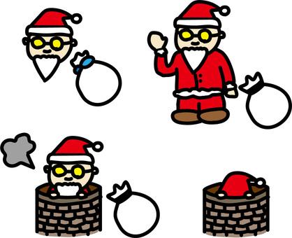 Santa's job