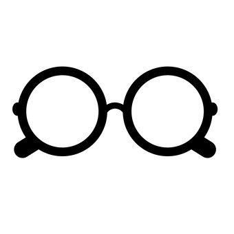 라운드 안경
