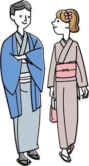 Kimono couple-02
