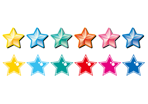 Various stars set