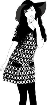 Women Illustration 44