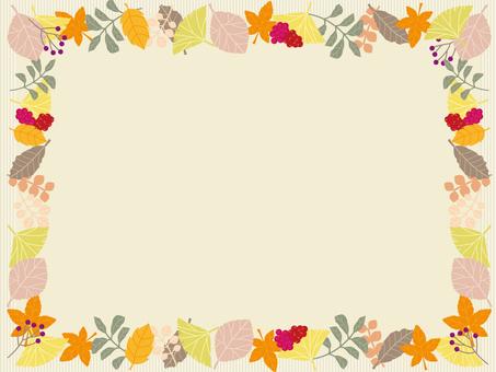 Autumn Leaf Frame 02