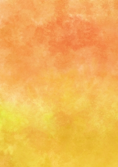 Orange and soothing yellow watercolor wallpaper vertical A4 novi
