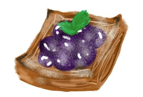 Danish bread blueberry